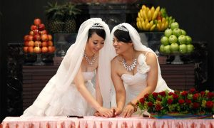 Equality of the 3rd sex group can be registered and married.